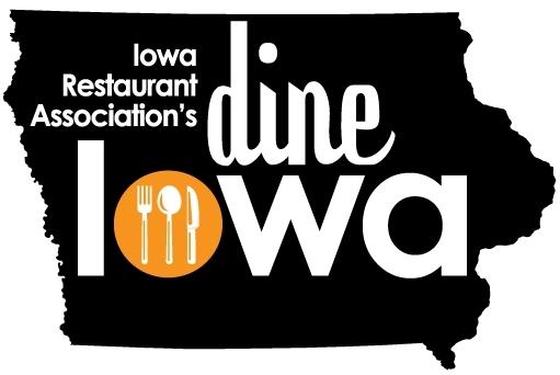 Dine Iowa Logo