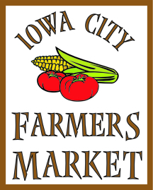 Iowa City Farmers market logo 2